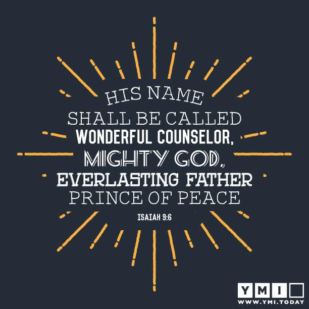 Typography: Isaiah 9:6