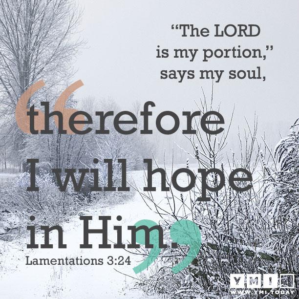 Lamentations 3:24