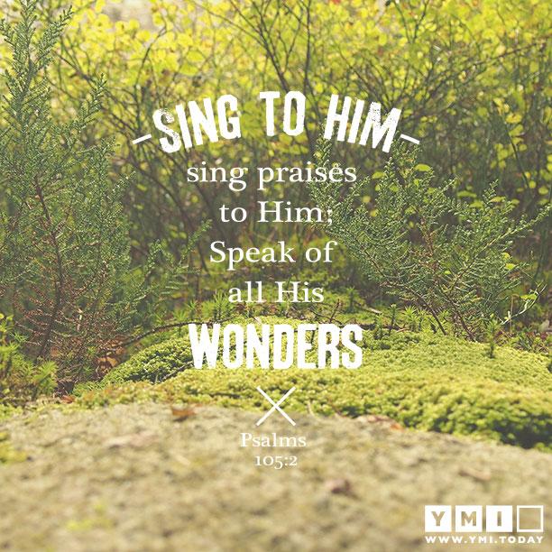 Psalms 105:2