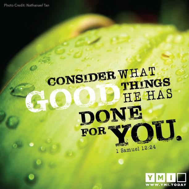 1 Samuel 12:24