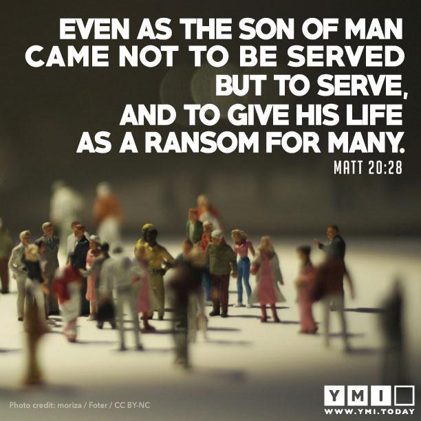 Matthew 20:28