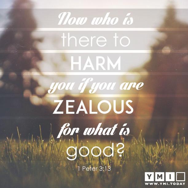 1 Peter 3:13
