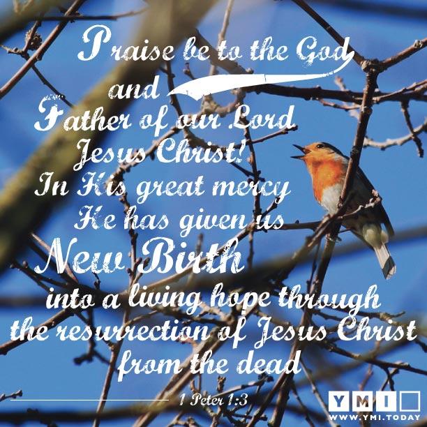 1 Peter 1: 3
