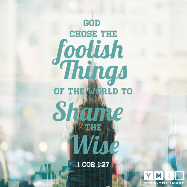 1 cor 1:27