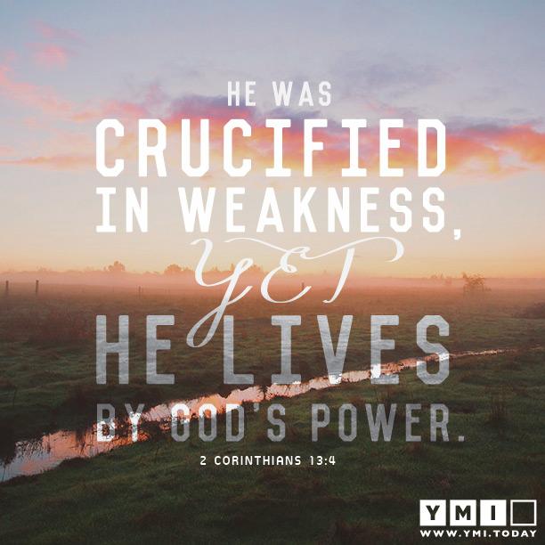 2 Corinthians 13:4