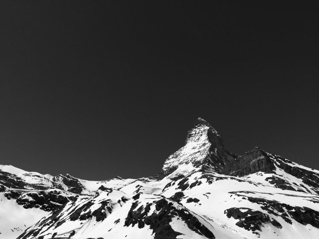 Matterhorn b&w