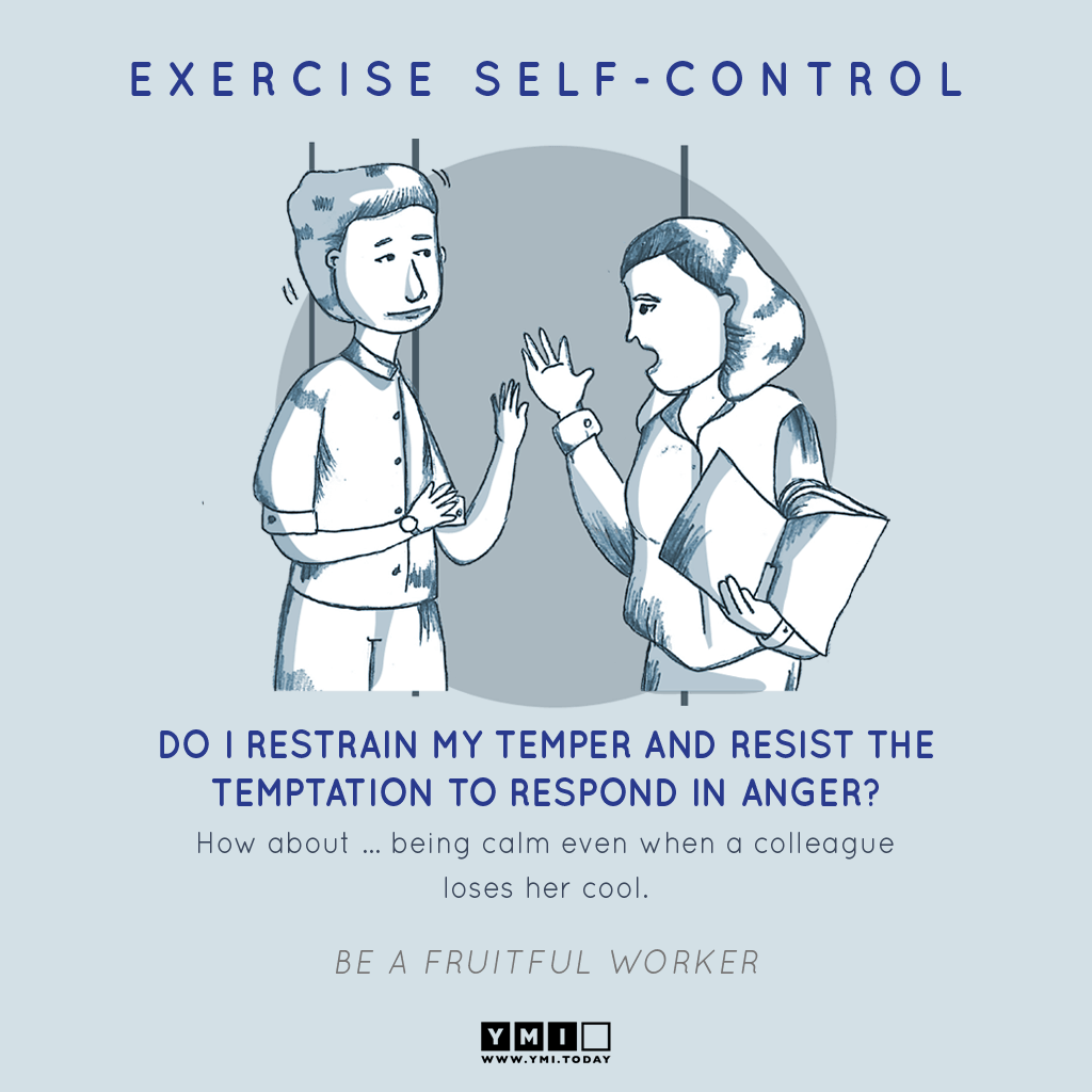 9 EXERCISE SELF CONTROL