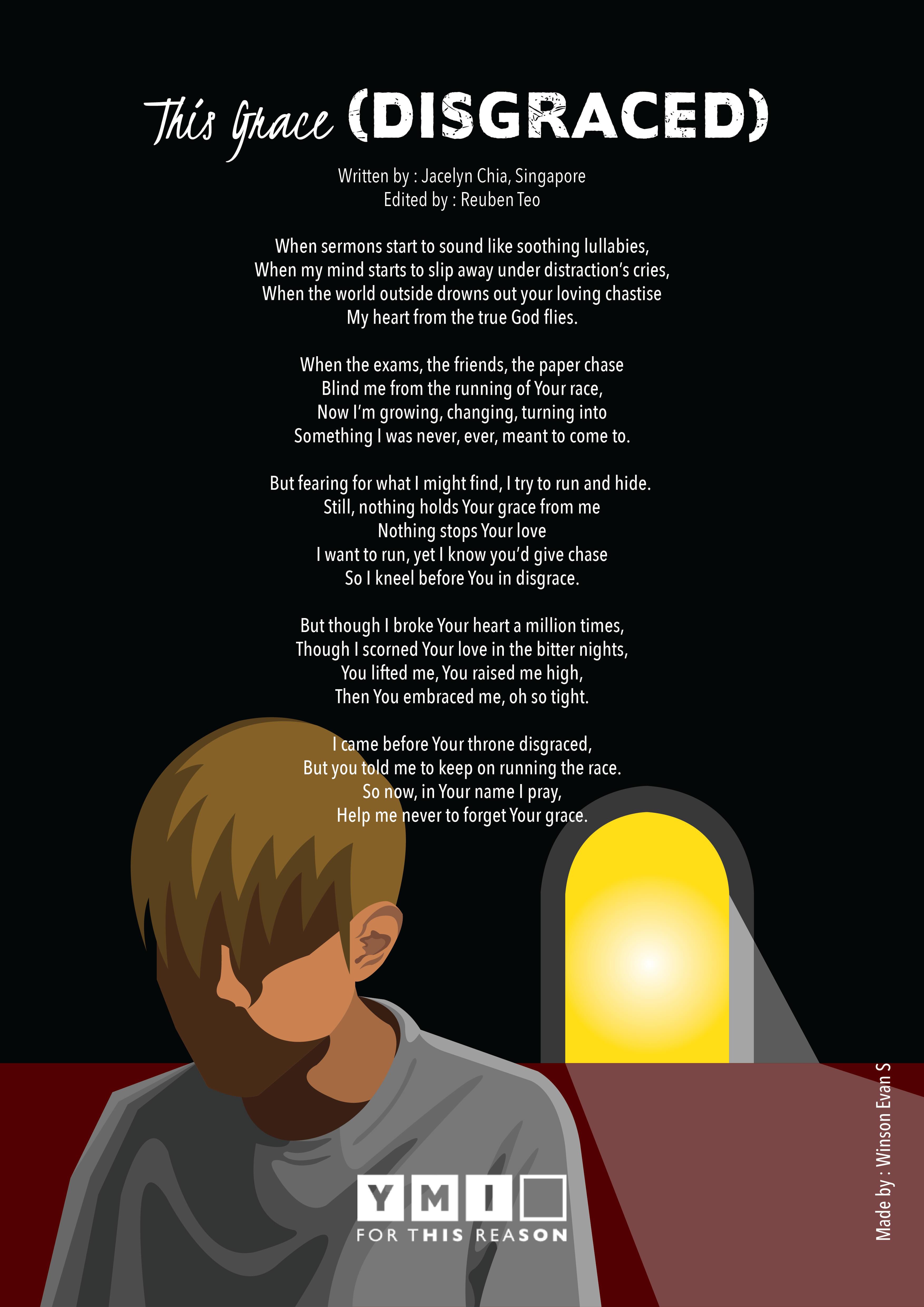 Disgrace poem YMI (1)